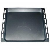 Metal roasting tin/baking tray 445 x 375 x 16mm