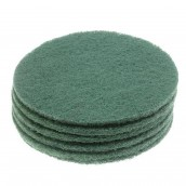 Pack of 6 abrasive green disks VD45