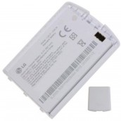 Battery with white cover