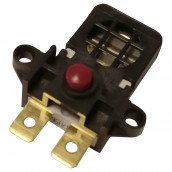 Resettable safety thermostat